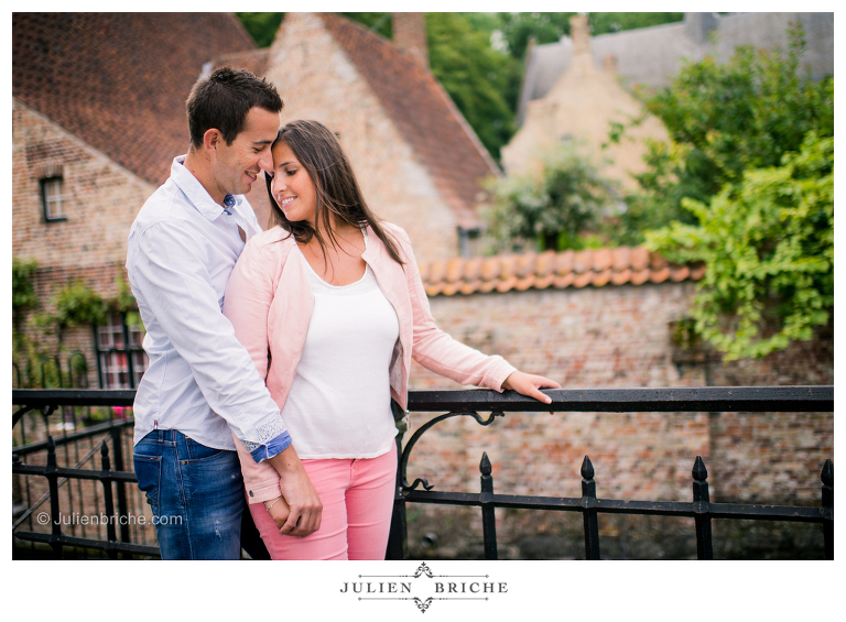 Engagement Session à Bruges en Belgique