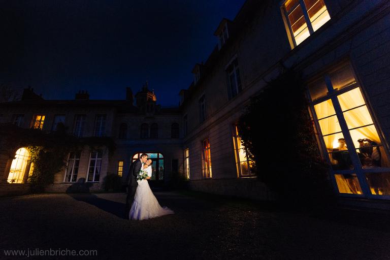 Mariage hivernal au Château d'Aubry du Hainaut
