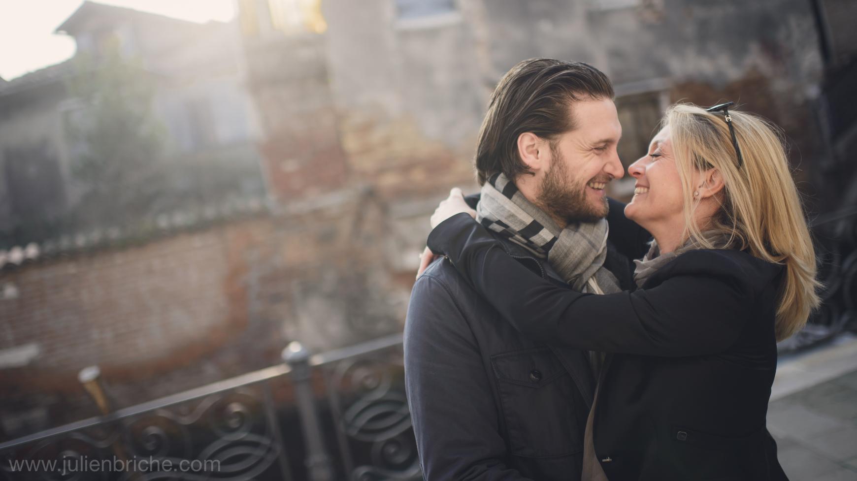 Une séance photo de couple à Venise