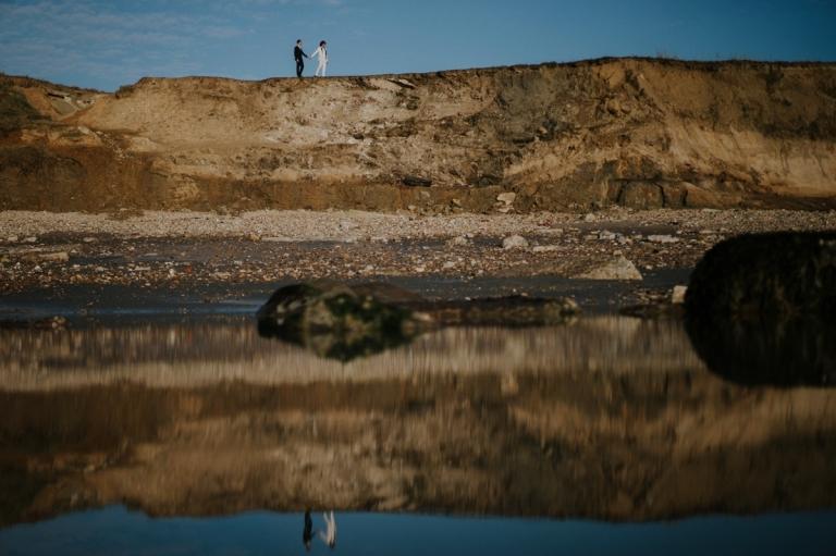 séance photo à la plage