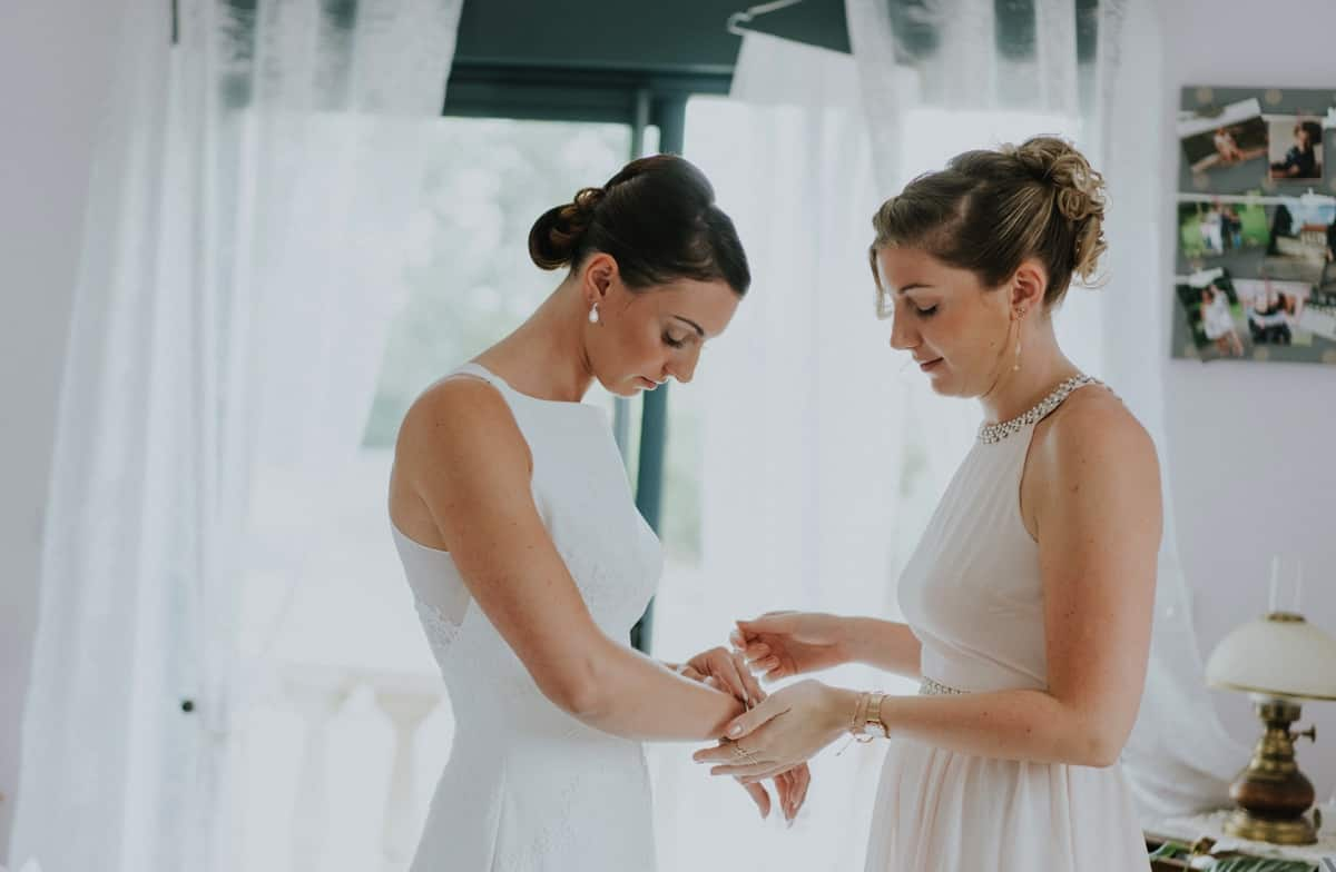 Mariage à la ferme de la Motte Dorée