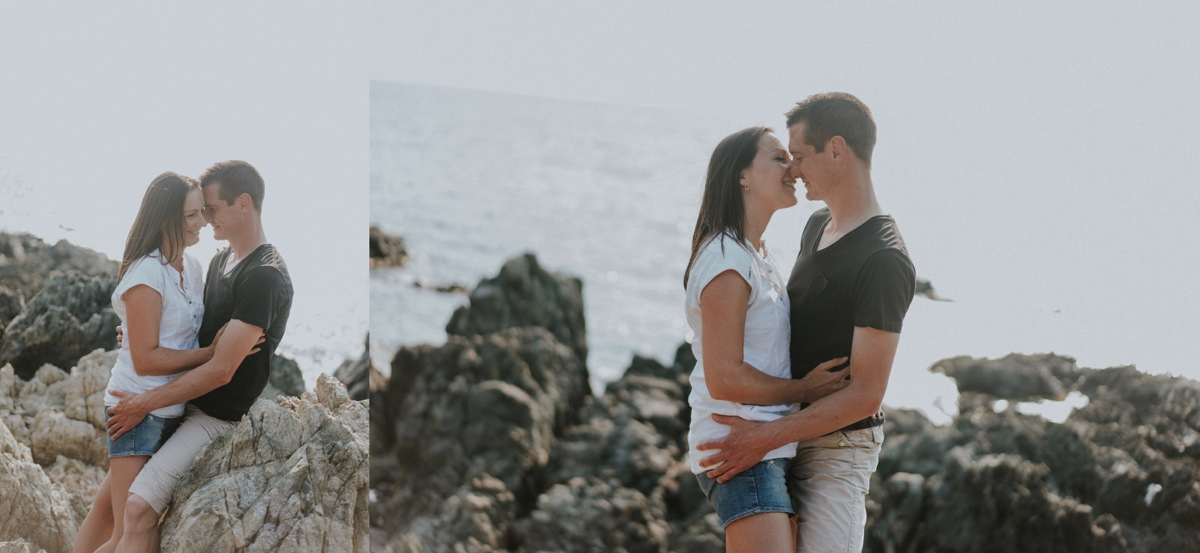 Photo de couple en Corse
