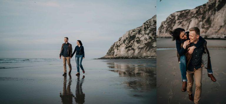 seance engagement au Cap Blanc Nez