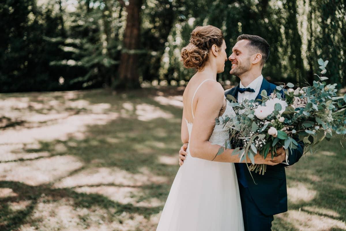 Mariage intime à la Ferme des Templiers