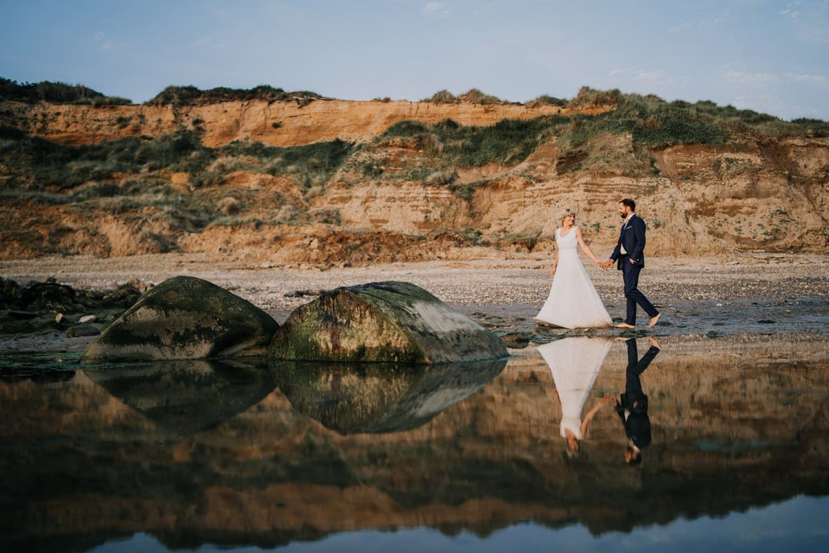 Mariage dans une barque