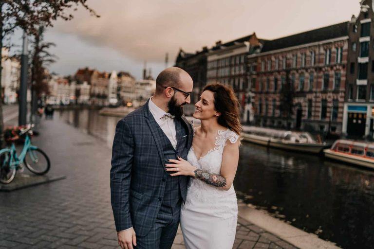 photo mariage amsterdam