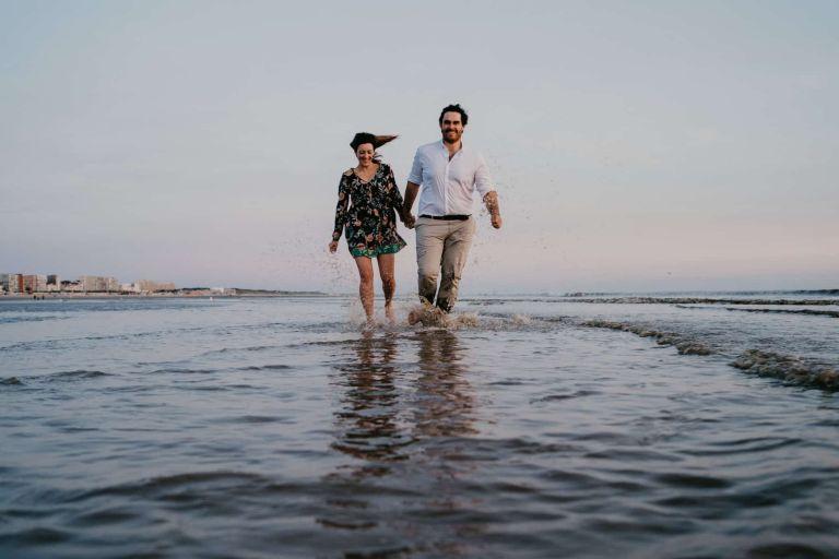 Séance engagement Mariage au Touquet