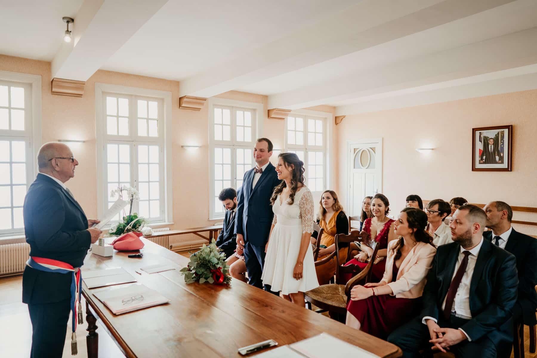 Mariage coloré dans un Château à Lille