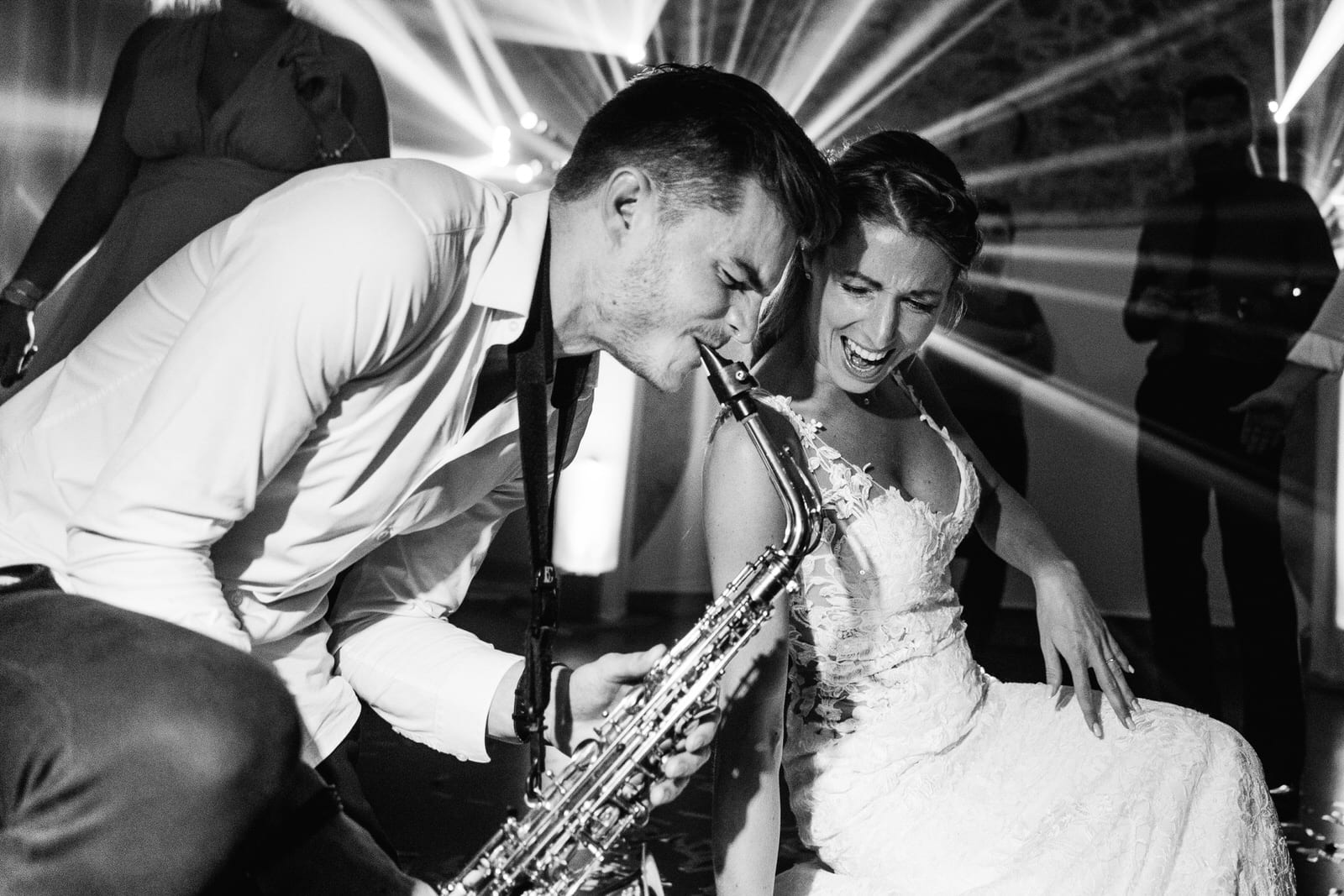 Saxophoniste mariage