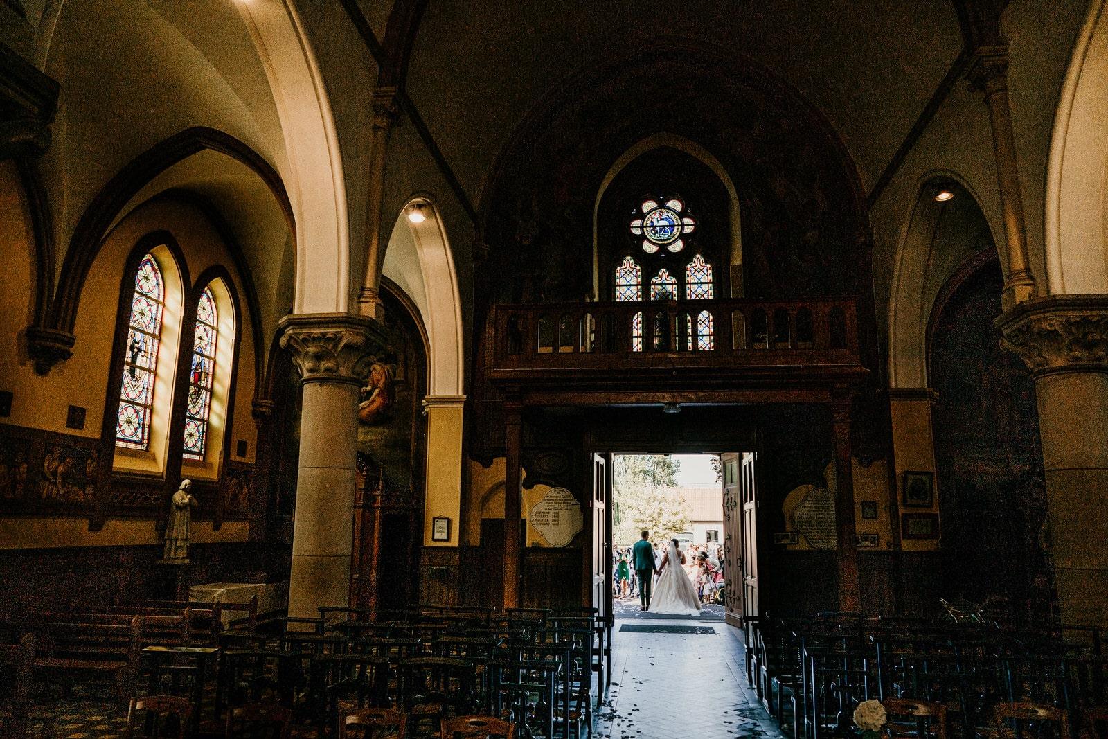 Sortie Eglise