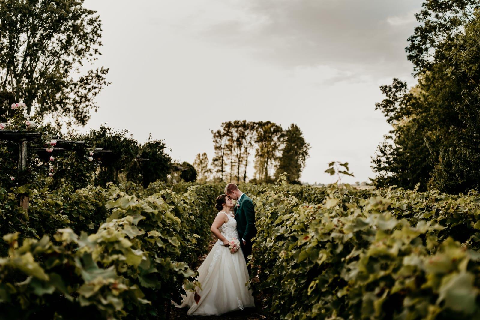Couple Vigne Chateau de Beaulieu