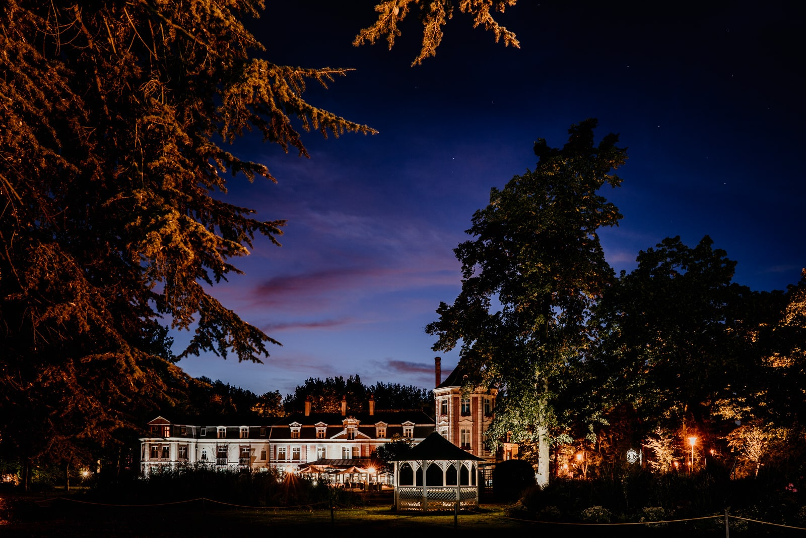 Chateau de Beaulieu nuit